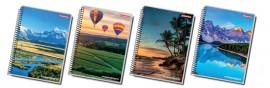 Caderno Panamericana - Universitário Capa Dura 10 Matérias 1UN