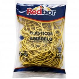 Atilho - Elástico Amarelo - RedBor 100g - 120 Unidades