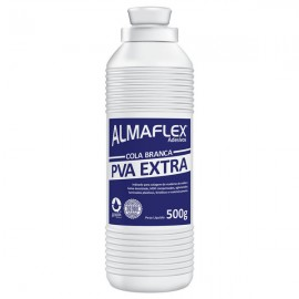Cola Branca PVA Extra 500g - Almaflex
