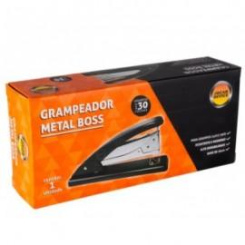 Grampeador Metal Boss Grande Grampeia 30fls Leo Leo