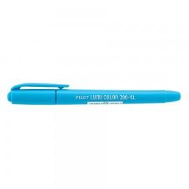 Caneta Marca Texto Lumi Color 200-SL Azul - Pilot