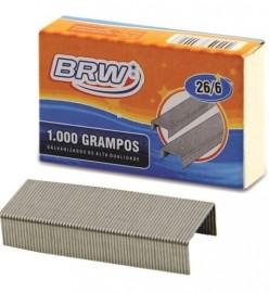 Grampo 26/6 Galvanizado com 1000 unidades - BRW