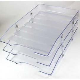 Caixa Correspondência Tripla Móvel Cristal - Novacril