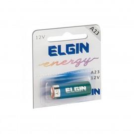 Bateria - Elgin - A23 - 12V - Cartela - Com - 1 Unidade