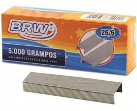Grampo 26/6 Galvanizado com 5000 unidades - BRW