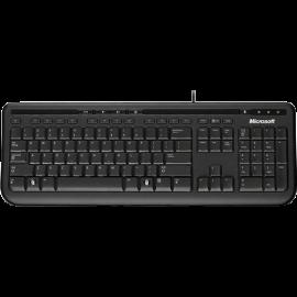 Teclado USB Microsoft Wired 600 | Resistente à Água | Padrão ABNT/2