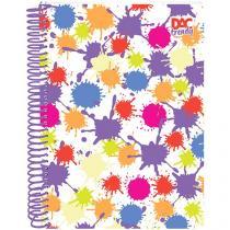 Caderno Dac - Universitário 1 Matéria Capa Dura Trendy Splash Ref: 2366