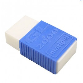 Borracha Plástica Branca GL 2000 com capa azul - Maripel
