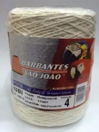 Barbante Rubi Cru 4 Fios 1057 Metros - São João